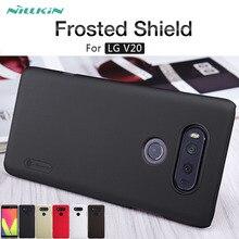 For LG V20 case NILLKIN Super Frosted Shield matte hard back cover case For LG V20 H990N 5.7'' phone cases