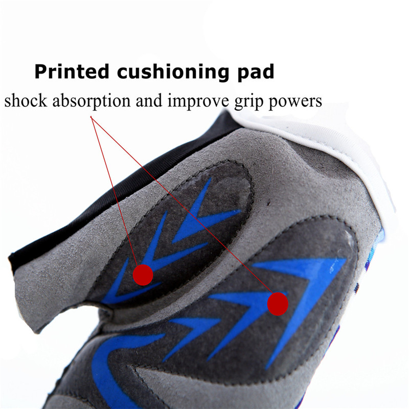 Kids Bike Gloves Full Finger Junior Sports Bicycle Cycling Touch Screen Grip 1 Pair Left And Right Hand Fit Age 2-11 Years Old Golf Gloves