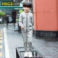 Pioneer Kids 2017 New 2 11T Boy Clothes Set New Fashion Kids Boys Batman Clothes 2pcs