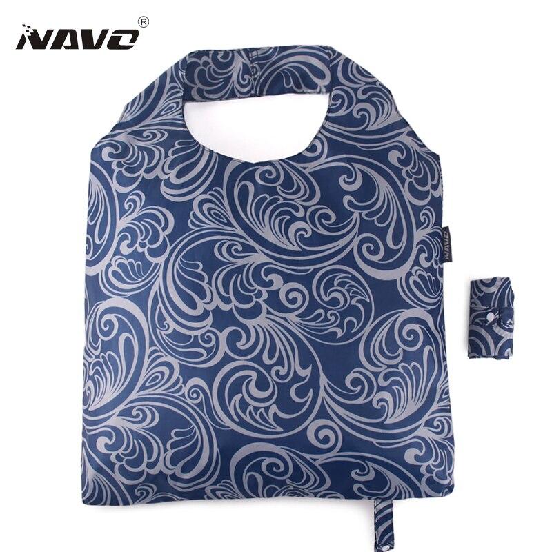 dobrável peso leve dobrável bolsa Folding Bag Feature : Eco Friendly, Reusable, Light Peso