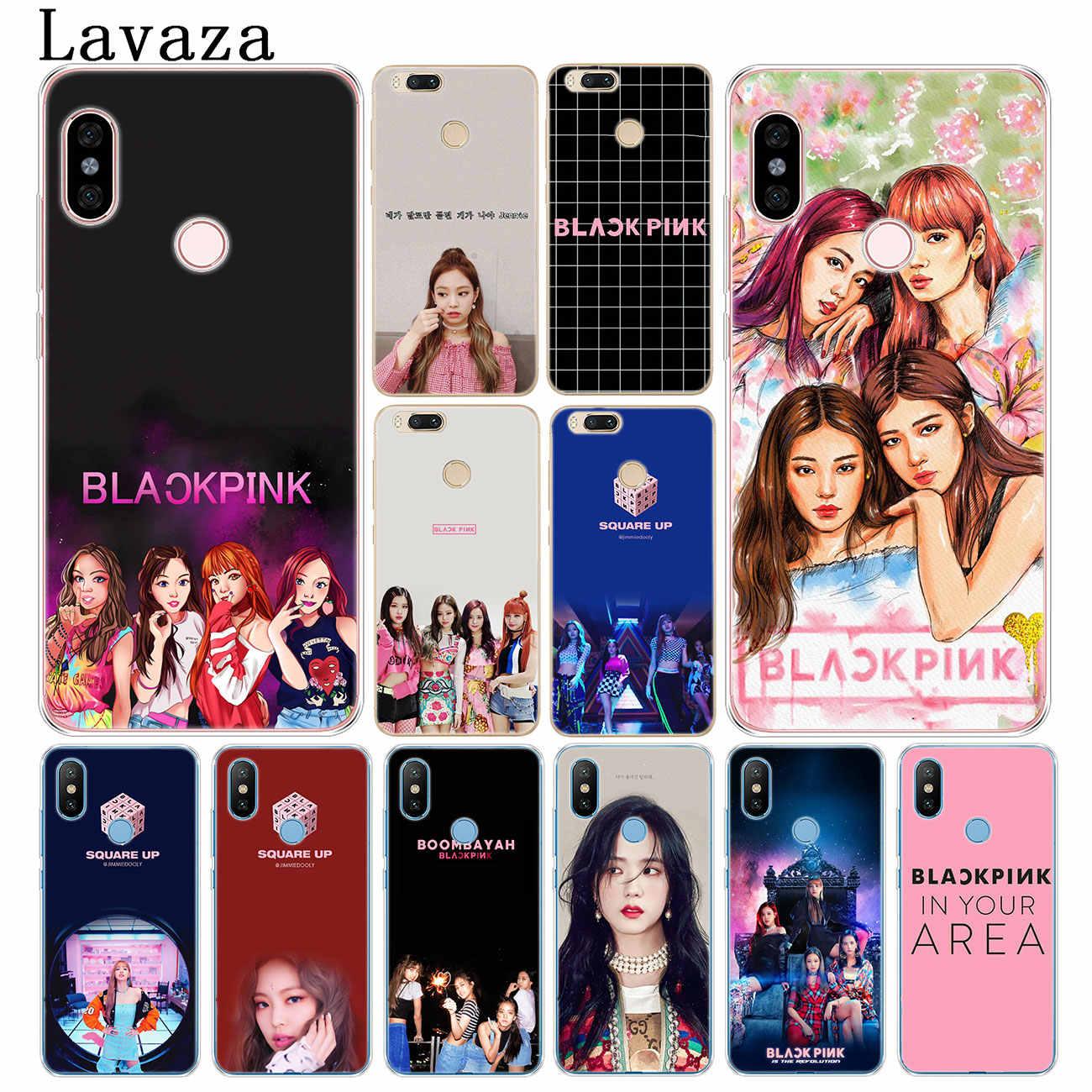 Lavazza BLACKPINK czarny różowy muzyki twarde etui na telefon xiaomi Redmi K20 Pro 8A 7A 5A 6A uwaga 8 8T 7 5 4 4X6 Pro pokrywa