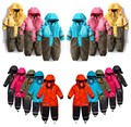 Children's winter designer thick Romper Teddy Teddy assault boys and girls high-end outdoor ski suit warm waterproof windproof