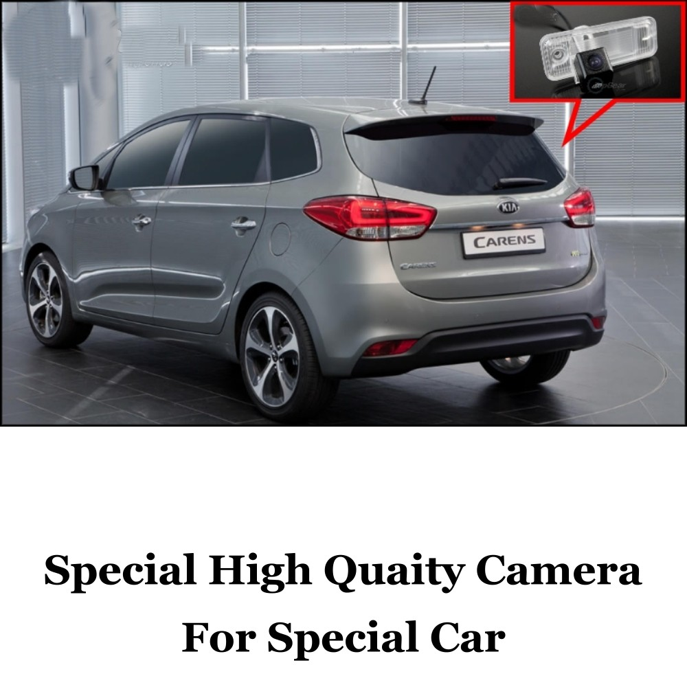 Car Camera For KIA Carens RP MK3 2012 2013 2014 2015 High Quality Rear View Back Up Camera For Fans  CCD + RCA Car