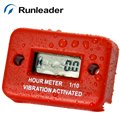 (10pcs/lot) Runleader Waterproof  Wireless Hour Meter for UTV CRUISER SCOOTER SNOWMOBILE Go Kart ATV