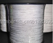 TM9820:1mm *1800m double side reflective thread. class2 reflective yarn for ribbon ,Hand knitting clothes
