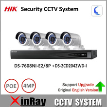 $ Number mp hikvision cctv sistema nvr de seguridad ds-7608ni-e2/8 p y cámara ip ds-2cd2042wd-i kit nvr apoyo actualización ezviz