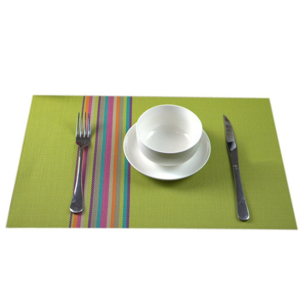 Online kopen wholesale groene placemats uit china groene placemats ...