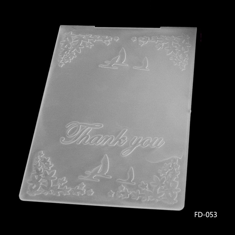 EF053 10.5x15 cm Vela gracias MARCO de caja de la Carpeta de ...
