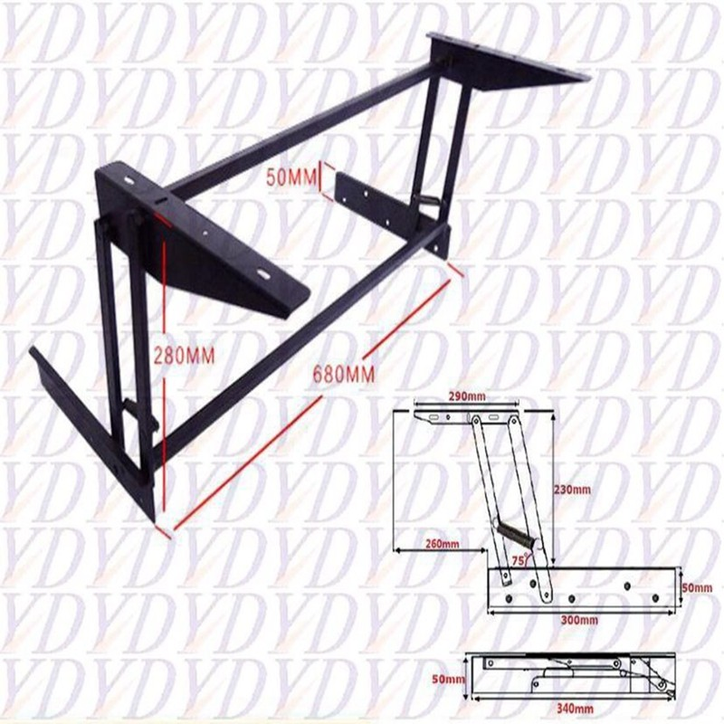 lift up coffee table mechanism folded furniture hardware table hinge ...