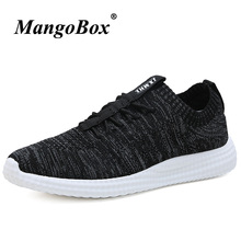 Spring Summer Joggging Shoes Lace Up Running for Men Rubber Sole Walking Sneakers Comfortable Trainers