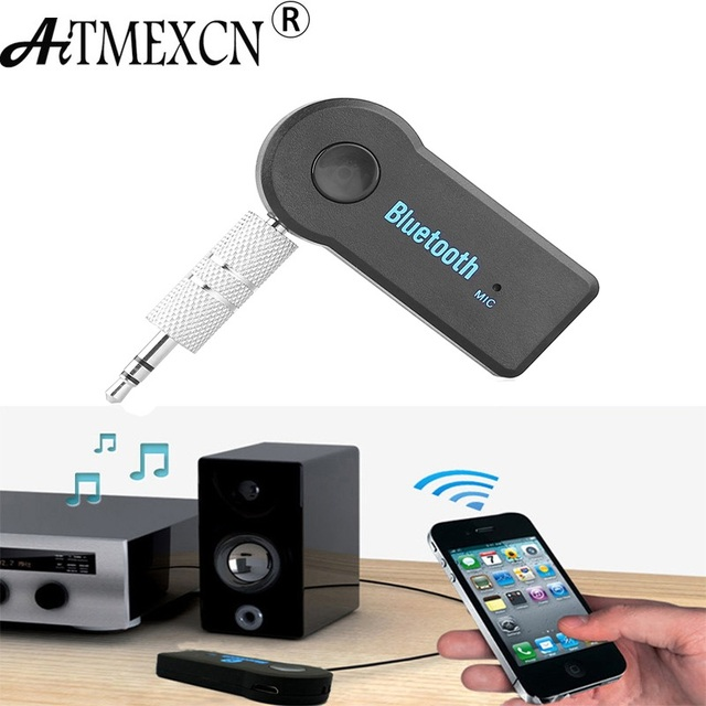 Bluetooth Receiver /Car Kit Portable Wireless Audio Adapter 3.5mm Stereo for Home Audio Music Streaming Sound System Smartphone