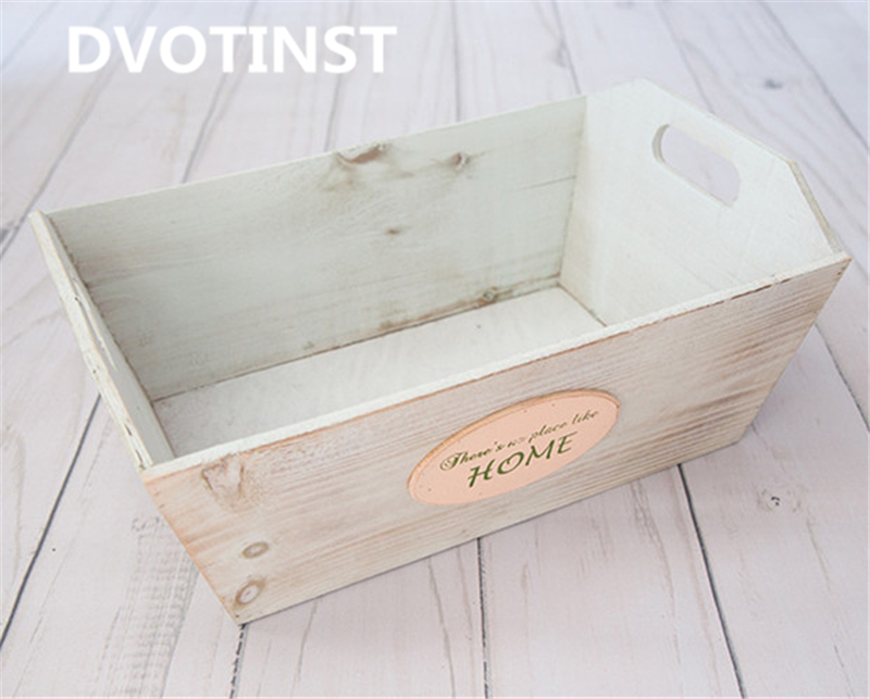 Dvotinst Newborn Baby Photography Props Retro Wooden Tub Wood Barrel Fotografia Accessories Infant Studio Shooting Photo Props