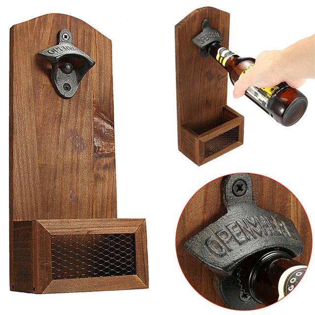 Vintage Wall Mounted Bottle Opener
