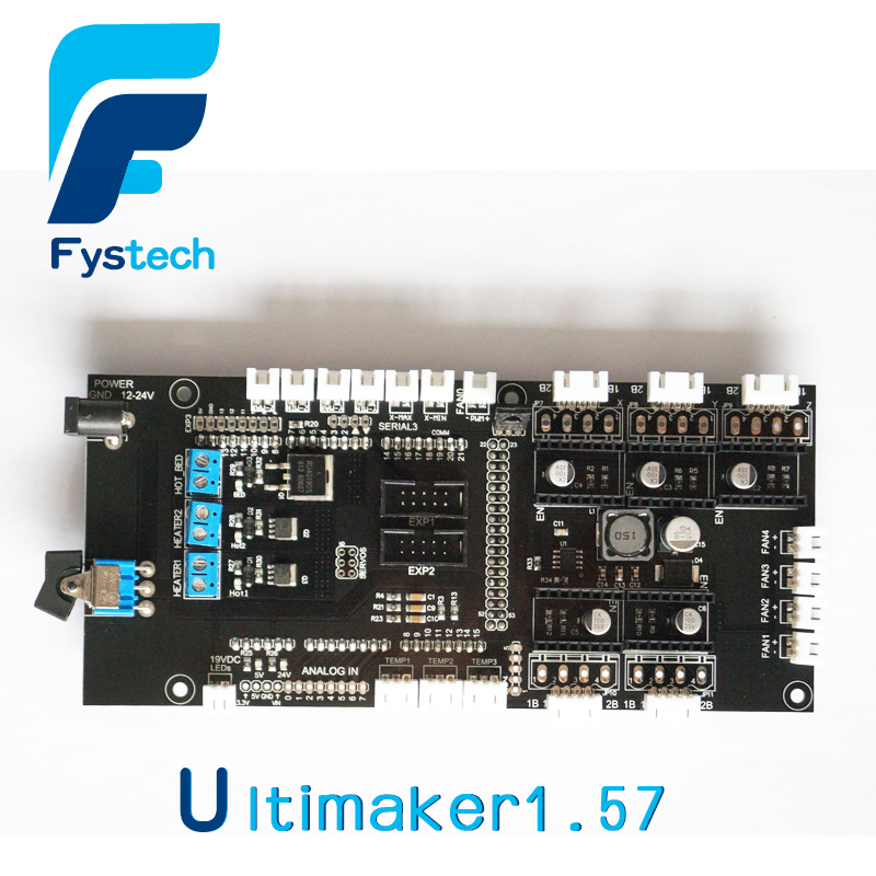 ФОТО Free shipping 3D printer DIY Dashboard Ultimaker 1.57 improved version of 3D printer accessories