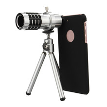 Cheaper New Arrival Camera Lens Kit  High Performance Telephoto Telescope Lens  For iPhone 7 Plus With 2 in 1 Macro and Wide Angle Lens