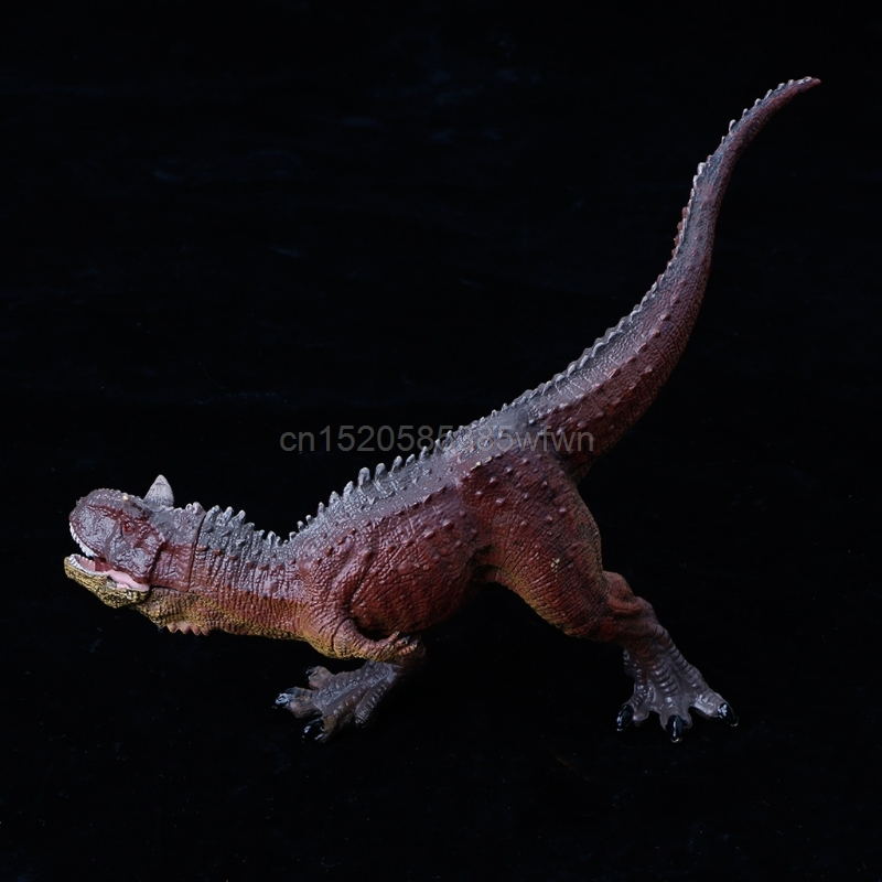 1PC Carnotaurus Dinosaur Action Figure Toys Hand Puppet Kids Educational Model #HC6U# Drop shipping