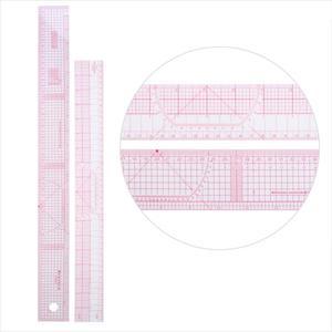 Image 4 - 10pcs Multi function Clothing Sample Cutting Ruler Metric Yardstick Rulers Drawing Tailor Ruler Curve Yardstick Sewing Tools
