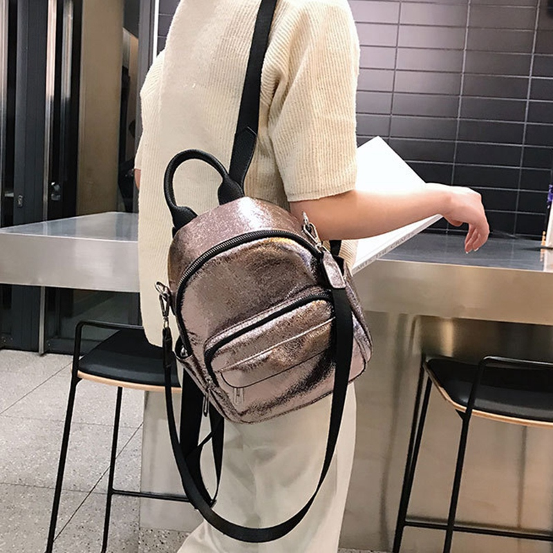 NEW Women 39 S Backpack Casual Versatile Shoulder Bag Korean Travel Backpack College Wind Bag Korean Bag in Backpacks from Luggage amp Bags