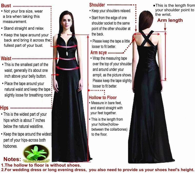 We hope that the dress model s measurements can help you better understand  the fit of the dress. Please contact with us as soon as possible if you  can t ... 480077351d99