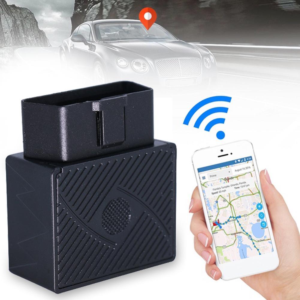 Car GPS Locator Satellite Tracking Tracker OBD Burglar Alarm Free Installation With SOS Geo-fence App Charging