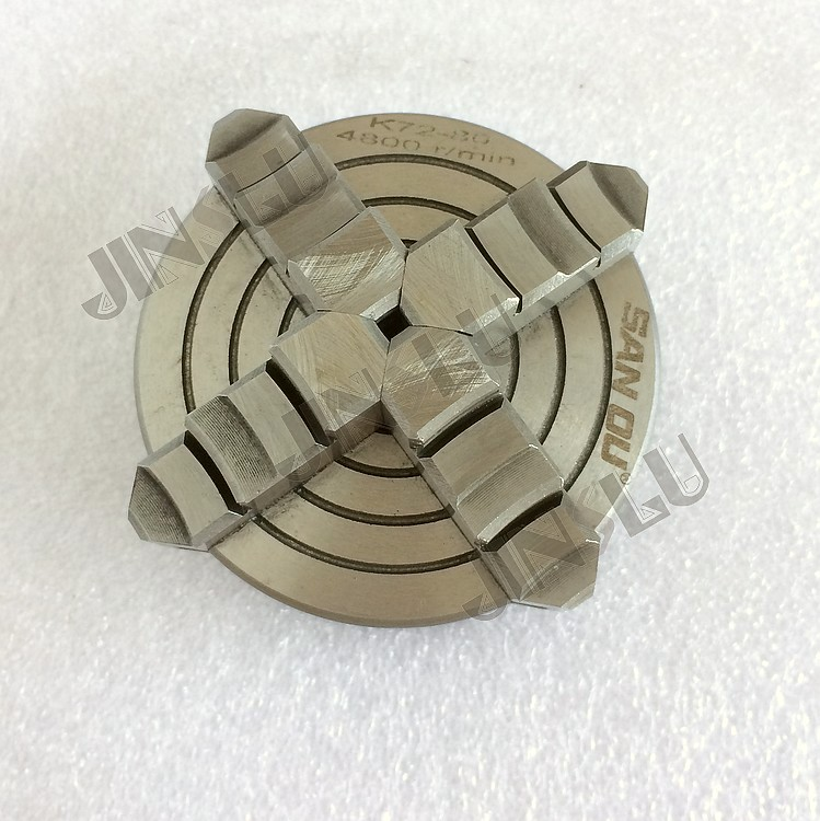 4 Jaw Independent Chuck K72-80 3 inch Machine Tool Lathe Chuck independent lathe chuck 4 jaw cnc milling drilling tool k72 125mm tian pai