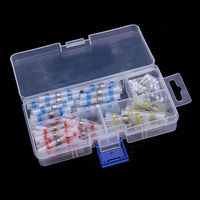 100pcs Heat Shrink Solder Sleeves Assorted Splice Butt Connector 26 10 AWG With Box Mayitr For