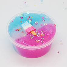 Fluffy Slime Color Ice Cream Cloud Star Modeling Clay Rainbow Toy For Children Antistress Lizun Additives for Slices