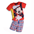 2017 New Fashion Kids Clothes Boys Clothing Sets Toddler Boys Clothing Cotton Knitted Children Clothing Boys Summer Clothes