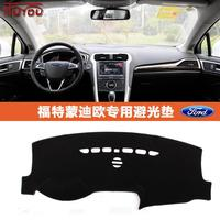 Dashmats car styling accessories dashboard cover for Ford Fusion Mondeo 3 4 MK3 MK4 MK5 2007 2008 2012 2013 2014 2015