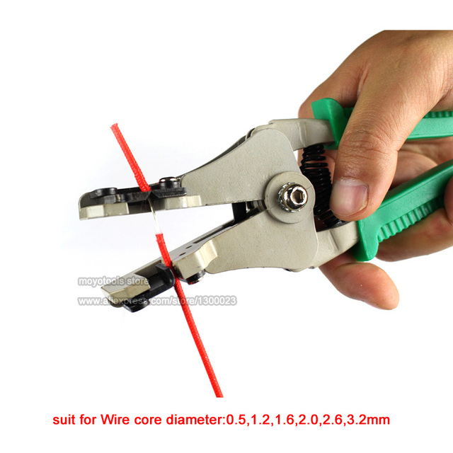 Aliexpress.com : Buy Cable Wire Stripper Cutter Crimper Automatic ...