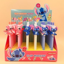 36pcs/lot STITCH&FRIENDS Cute Cartoon Anime DOLL Creative Ballpoint Pen Students Prize Promotion Gift Office School Stationery