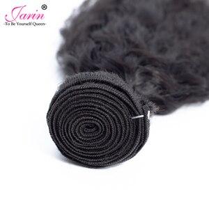 Image 4 - 1 3 6 9 Pcs Peruvian Kinky Straight Hair Extension Hair Weave Bundles Deal Coarse Yaki 100% Human Hair Remy Jarin Bulk Sale