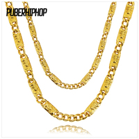 JFY Jesus Pattern Necklace 18K Real Gold Plated Necklace Gold Men Chains Necklace Hip Hop Jewelry