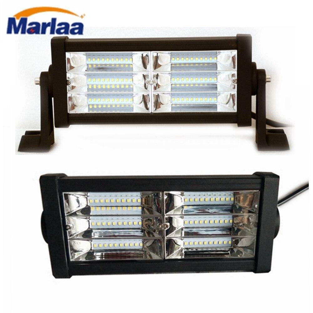 Offroad 180W 9 Inch LED Work Light Bar Spot Flood 12V 24V Led Light Bar For Pickup Lada 4x4 Truck Auto Led Driving Light