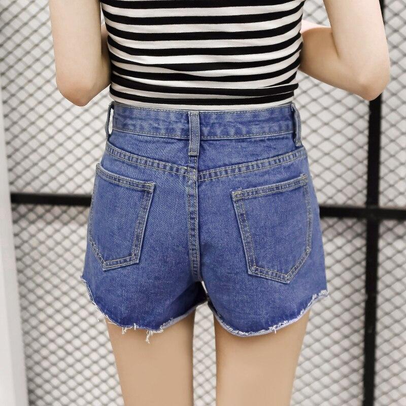 Aliexpress.com : Buy High Waist Vintage Jeans Women Denim Shorts ...