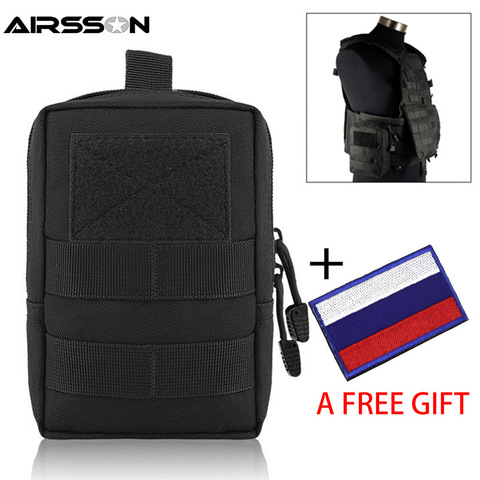 Tactical Pouch Military Molle EDC Bag Portable Waist Bag Outdoor Hunting Camping Accessory Bags Utility Gear With Pouch Patch Pakistan