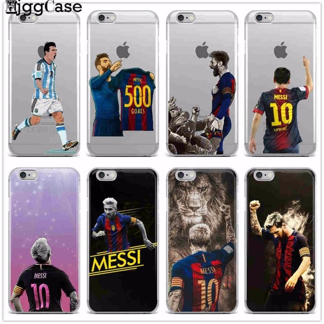475fbb37967 Football star Messi Ronaldo Dybala Neymar Soft cover soft silicon TPU phone  case cover For iphone 7 6 6S 8 plus 5S SE X Fundas