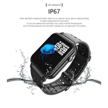 Smart wristband Y6 Pro 1.3 Watch Fitness  track Bracelet Blood Pressure Heart Rate Monitor with Battery charger