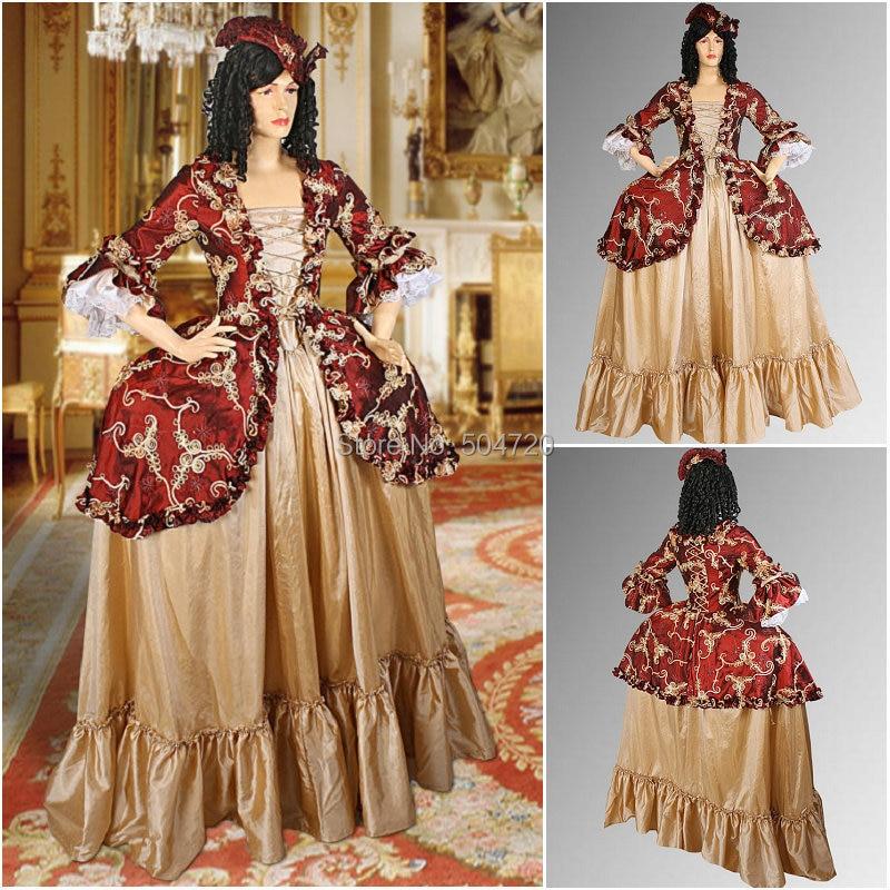 Custom madeR 768 Vintage Costumes 1860s Civil War Southern Belle Ball wedding Dress/Gothic Lolita Dress Victorian dresses