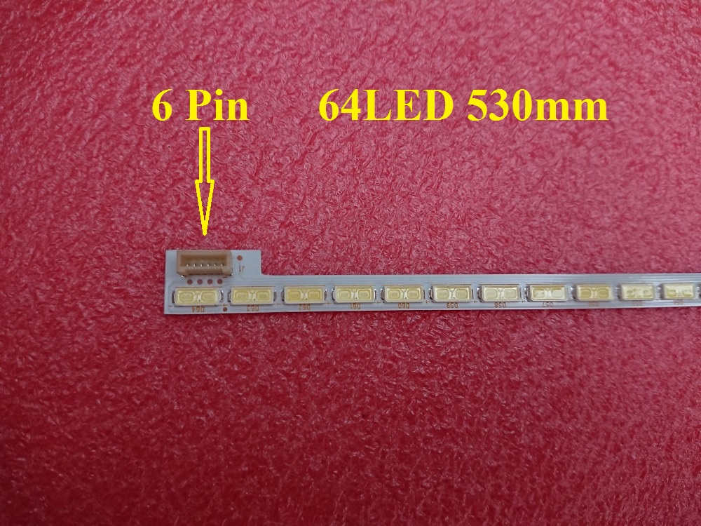 New 64LED 530mm LED Strip For LG Innotek 42Inch 7030PKG 64EA 74.42T23.001 AUO TOSIBIA AU T420HVN01.1 T420HW06 T420HW04