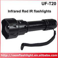 UF-T20 Инфракрасный красный ИК 850 нм масштабируемый 1-режим ИК-фонарик (1 х 18650)