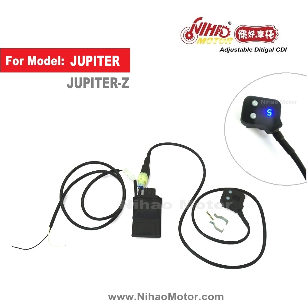 Motorcycle Racing CDI JUPITER Performance parts Adjustable Programing Digital Ignition Unit Spare part for YAMAHA NIHAO MOTOR