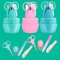 Conjunto multifuncional Infantil Dedo bebê cortador de Unhas Tesoura Trimmer cuidados Diários Prático de segurança Cuidados Com o Bebê Prego