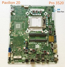 697523-001 For HP Pavilion 20 Pro 3520 AIO Motherboard 703643-001 IPISB-AB Mainboard 100%tested fully work(China)