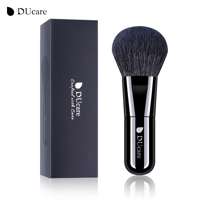 DUcare Powder Brush Kabuki Face Makeup Brushes Soft Goat Hair High Quality Cosmetics Tools