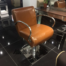 The new European hair salons dedicated hairdressing chair. Haircut chair. The barber chair. Put down the chair
