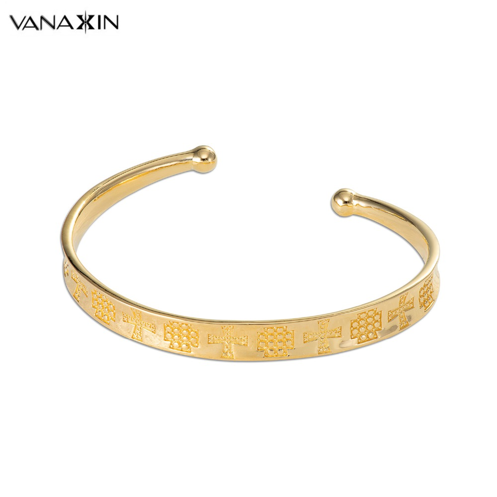 VANAXIN 925 Sterling Silver Bracelet Open Bangle Women Wedding Jewellery Gold/Black Color 925 Fashion Vintage Jewelry Birthday