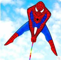 Cometa de alta calidad de Avatar kite nuevo spiderman kite delta fly muy popular con la línea de mango envío gratis weifang kite fábrica