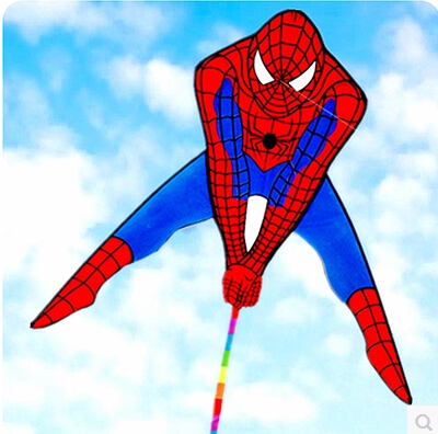 High Quality Avatar Kite New Spiderman Kite Delta Kite Fly Well Popular With Handle Line Free Shipping Weifang Kite Factory