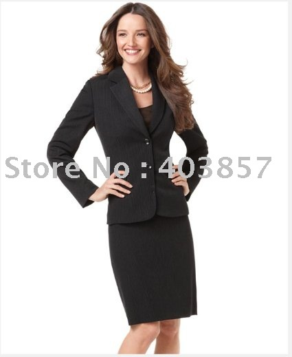 Aliexpress.com : Buy Suits Fro Women Two Button Pinstriped